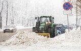 Rejowiec Fabryczny: Zima na drogach