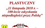 Gościeradów: Niepodległościowy konkurs plastyczny