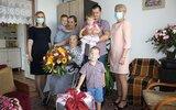 Komarów-Osada: Setne urodziny Genowefy Bełz (foto)