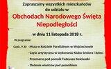 Wojciechów: 100 lat po odzyskaniu niepodległości