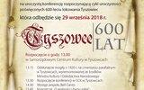 Tyszowce: Inauguracja jubileuszu