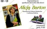 Głusk: Dzień książki z Alicją Barton