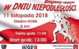 Hrubieszów: Bieg w rocznicę odzyskania niepodległości