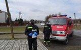 Trzydnik Duży: Strażacy promują i pomagają w szczepieniach (foto)