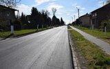Dzierzkowice: Droga w Ludmiłówce po przebudowie