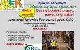 Rejowiec Fabryczny: Zagraniczne oferty pracy na giełdzie w