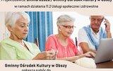 Obsza: Zapisy chętnych do Klubu Seniora
