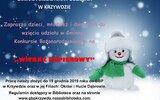 Krzywda: Konkurs bożonarodzeniowych witraży