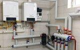 Wiśniew: Nowa kotłownia w budynku komunalnym (foto)
