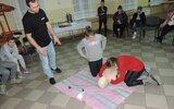 Dzierzkowice: Pierwsza pomoc ratuje życie! (foto)
