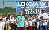 Trzydnik Duży: Anita Włodarczyk zaraża aktywnością (foto)