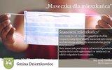 Dzierzkowice: Będą maseczki dla mieszkańców