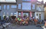 Modliborzyce: Promotorzy czytelnictwa na rowerach (foto)