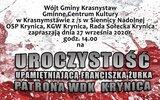 Gmina Krasnystaw: Pamięci patrona WDK w Krynicy