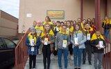 Obsza: Papieskie rocznice w szkole w Zamchu