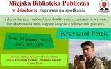 Józefów: Biblioteczne podróże z K. Petkiem