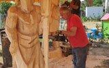 Zwierzyniec: Rzeźbiarski plener z warsztatami