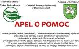 Dzierzkowice: Pomoc dla pogorzelców