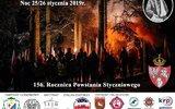 Gmina Łuków: Nocna wyprawa ku czci powstańców