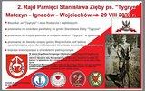 Wojciechów: Drugi Rajd Pamięci Stanisława Zięby