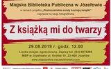 Józefów: Foto-album z książką w tle