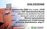 Dzierzkowice: Ważne spotkanie w/s OZE