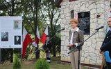 Dzierzkowice: Tablica majora R. Kamińskiego w Wyżniance