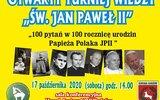 Gmina Łuków: 100 pytań na 100-lecie urodzin papieża