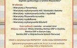 Wojciechów: Nabór chętnych na kreatywne warsztaty