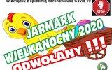 Gmina Łuków: Jarmark odwołany, konkursy przez internet