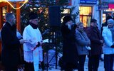 Hrubieszów: Pierwsza wigilia na deptaku (foto)