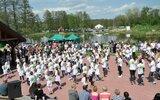Gościeradów: Sportowa wiosna przy stawie