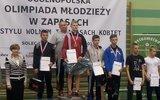 Włodawa: Młodzi zapaśnicy po zawodach w Solcu Kujawskim